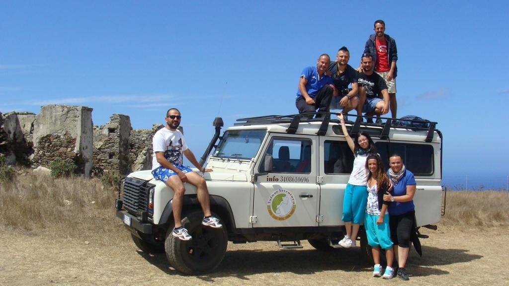 Asinaravventura - escursione gruppo Anela